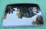 2002 MITSUBISHI ECLIPSE OEM SUNROOF GLASS MR384486