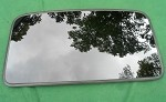 2004 TOYOTA CAMRY JAPAN ASSEMBLED SUNROOF GLASS PANEL 63201-33083; 6320133083