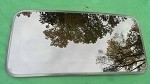 2006 MAZDA 3 SUNROOF GLASS BP4M-69-810; BP4M69810