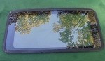 1991 INFINITI G20 SUNROOF GLASS