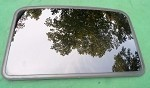 2002 TOYOTA 4 RUNNER  SUNROOF  GLASS  6320135040